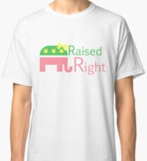 Pink Raised Right Classic T-Shirt