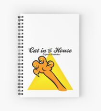 Cat in the House VRS2 Spiral Notebook