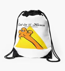Cat in the House VRS2 Drawstring Bag