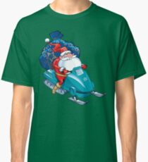Santa Delivering Gifts Classic T-Shirt