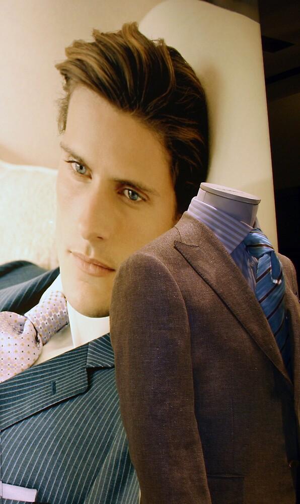 A Male Model by Cora Wandel