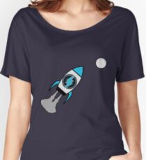 Electroneum. TO THE MOON! Women's Relaxed Fit T-Shirt
