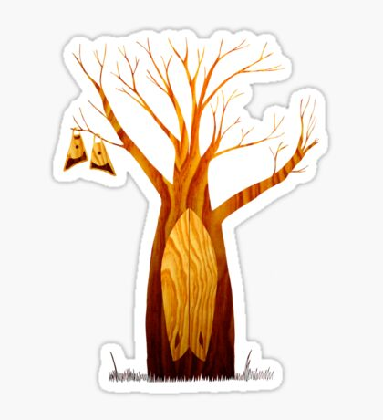 Kneeboard Tree Sticker