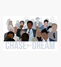 Pursuit of Happiness - Chase Your Dream Photographic Print