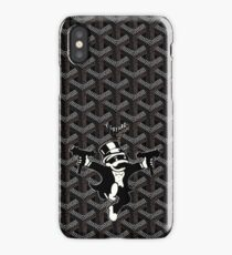 Black Goyard Monopoly iPhone Case/Skin