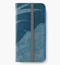 Crazy Blue Design iPhone Wallet/Case/Skin