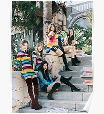 Peek-A-Boo - Red Velvet - Perfect Velvet Poster