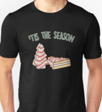 Tis The Season Little Debbie Inspired Christmas Tree Snack Cake Unisex T-Shirt