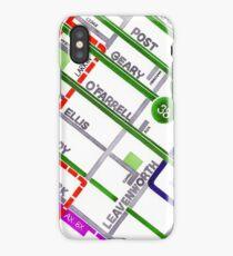 San Francisco map - Tenderloin iPhone Case