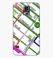 San Francisco map - Tenderloin Case/Skin for Samsung Galaxy