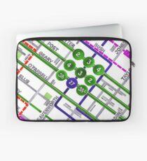 San Francisco map - Tenderloin Laptop Sleeve