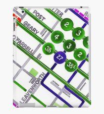 San Francisco map - Tenderloin iPad Case/Skin