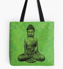 Earth Buddha Tote Bag