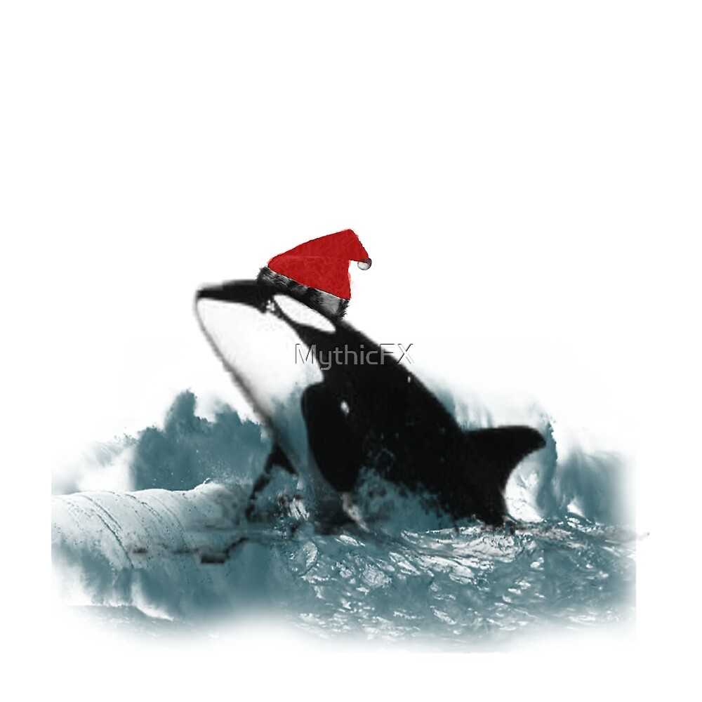 Holiday Killer Whale by MythicFX