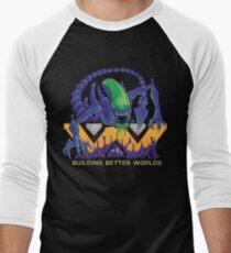 Building Better Worlds - Aliens Men's Baseball ¾ T-Shirt