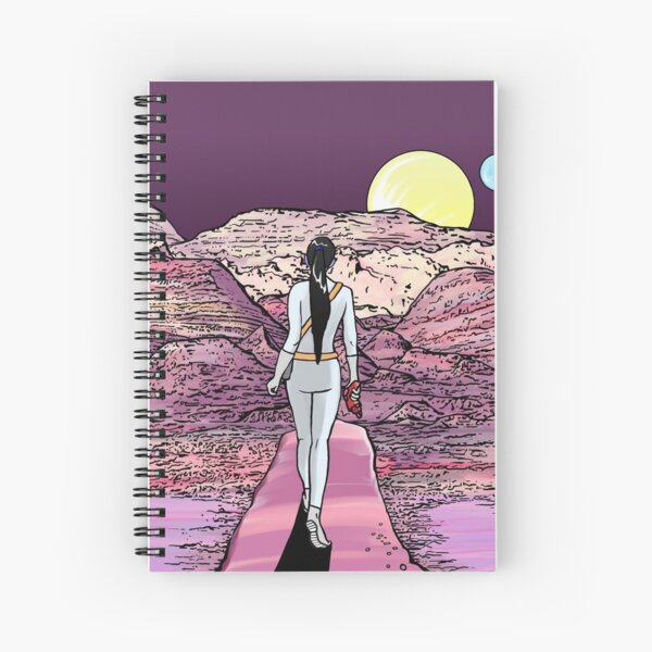 Science Fiction Exploration and Discovery Spiral Notebook