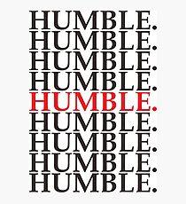 HUMBLE. Kendrick Lamar Photographic Print