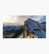 Mount Yamnuska Photographic Print