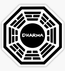 Dharma Initiative Sign Sticker