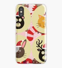 Christmas Animals  iPhone Case/Skin