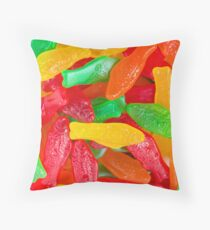 Swedish Fish Pattern Throw Pillow