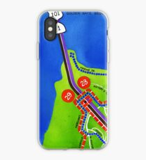 San Francisco map - Presidio iPhone Case