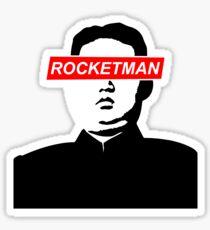 Kim Jong Un Rocket Man  Sticker