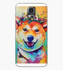 Happy Shiba Case/Skin for Samsung Galaxy