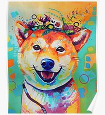 Happy Shiba Poster