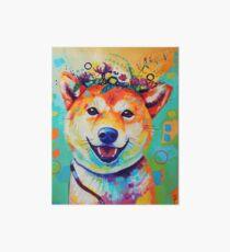 Happy Shiba Art Board