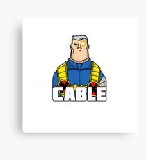 Cable Canvas Print