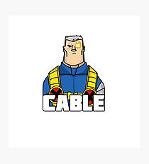 Cable Photographic Print