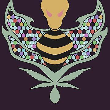 Alien Bee by TreeSeed