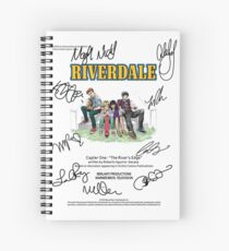 Cuaderno de espiral Riverdale Script
