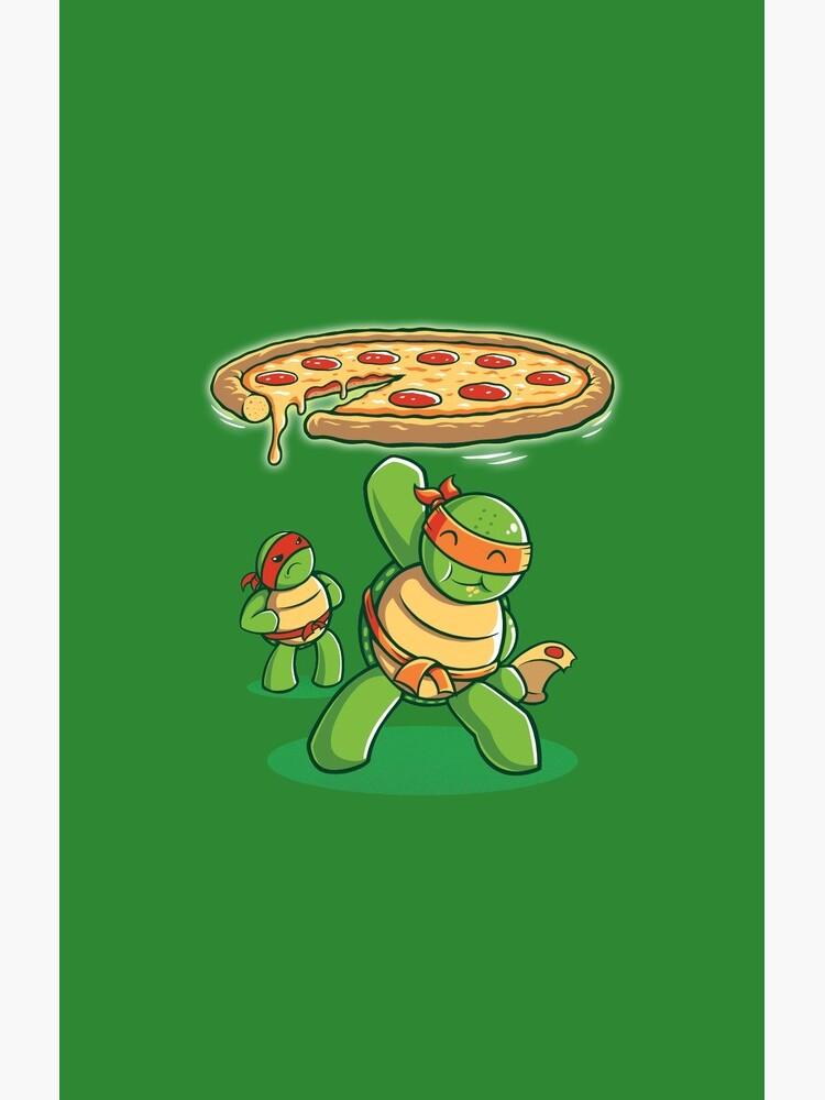 Delicious Disk Attack - Ninja Turtles de TrulyEpic