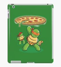 Delicious Disk Attack - Ninja Turtles iPad Case/Skin