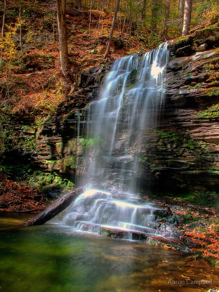 Harrison Wright Falls by Aaron Campbell