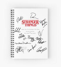 Stranger Things Script Spiral Notebook