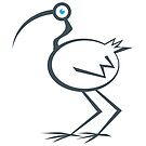 Ian the ibis by Matt Mawson