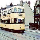 Sheffield Tram 1950's by Trevor Kersley