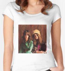 Queens of Rock! Grace & Janis Women's Fitted Scoop T-Shirt