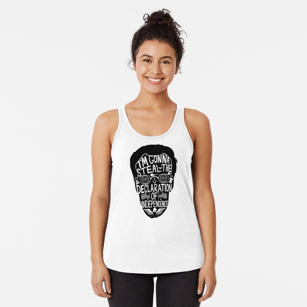 Public Enemy Number One Racerback Tank Top