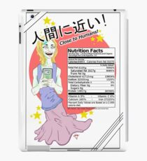 (Sally) Food Clones, Nutrition Facts. iPad Case/Skin