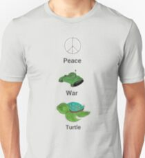 peace love turle T-Shirt