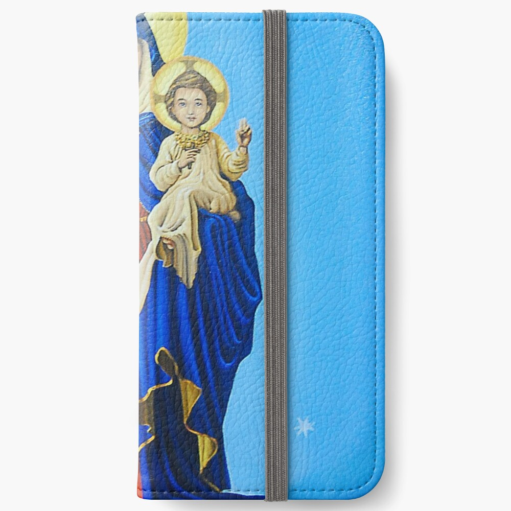 Mary, Help of Christians iPhone Wallet