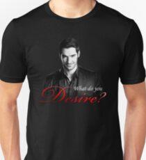Lucifer Morningstar - What do you desire? Unisex T-Shirt