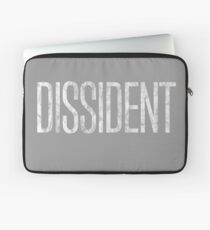 Dissident (Blanc) Housse de laptop
