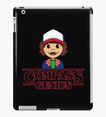 DUSTIN THE COMPASS GENIUS iPad Case/Skin
