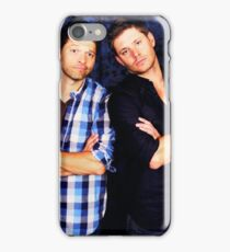 Jensen and Misha iPhone Case/Skin