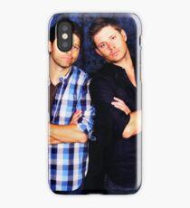 Jensen and Misha iPhone Case